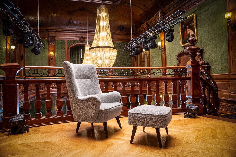 Fotel ON Meble tapicerowane producent Nowy Sącz Kraków Małopolska sesja Pałac Goetz