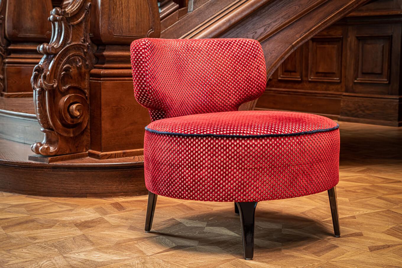 Fotel Serpens Meble tapicerowane producent Nowy Sącz Kraków Małopolska sesja Pałac Goetz