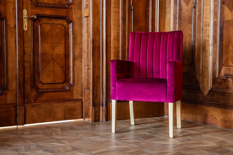 Krzesło do gabinetu Mizar krzesła tapicerowane producent Nowy Sącz Kraków Małopolska Pałac Goetz