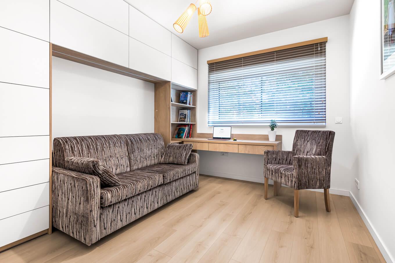 Sofa rozkładana Ara sofa do sypialni krzesło Mizar Meble tapicerowane producent HM Manufaktura Nowy Sącz Kraków Małopolska