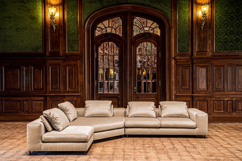 Meble wypoczynkowe producent Nowy Sącz Kraków Małopolska sofa Phoenix sesja Pałac Goetz
