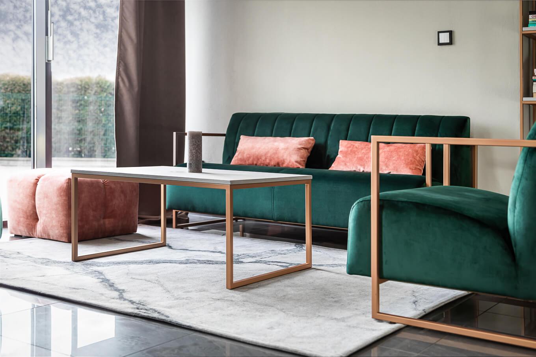 Fotel Lepus meble tapicerowane wypoczynkowe wyposażenie salonów fryzjerskich producent HM Manufaktura Nowy Sącz Kraków Małopolska