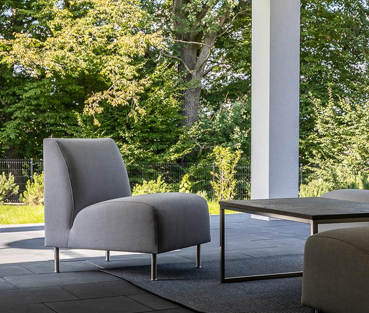 Sofa Indus meble tapicerowane wypoczynkowe meble outdoor producent HM Manufaktura Nowy Sącz Kraków Małopolska