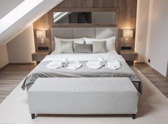 Łóżko hotelowe meble tapicerowane wypoczynkowe producent HM Manufaktura Nowy Sącz Kraków Małopolska