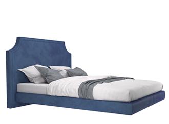 Łóżko z panelem ściennym meble tapicerowane wypoczynkowe producent HM Manufaktura Nowy Sącz Kraków Małopolska