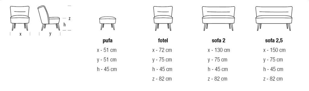 Fotel Roma meble tapicerowane wypoczynkowe producent HM Manufaktura Nowy Sącz Kraków Małopolska