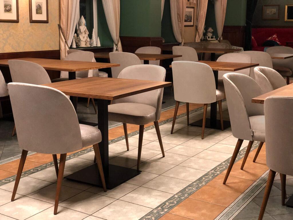 Krzesła do jadalni krzesło Delphini Meble tapicerowane producent HM Manufaktura Nowy Sącz Kraków Małopolska
