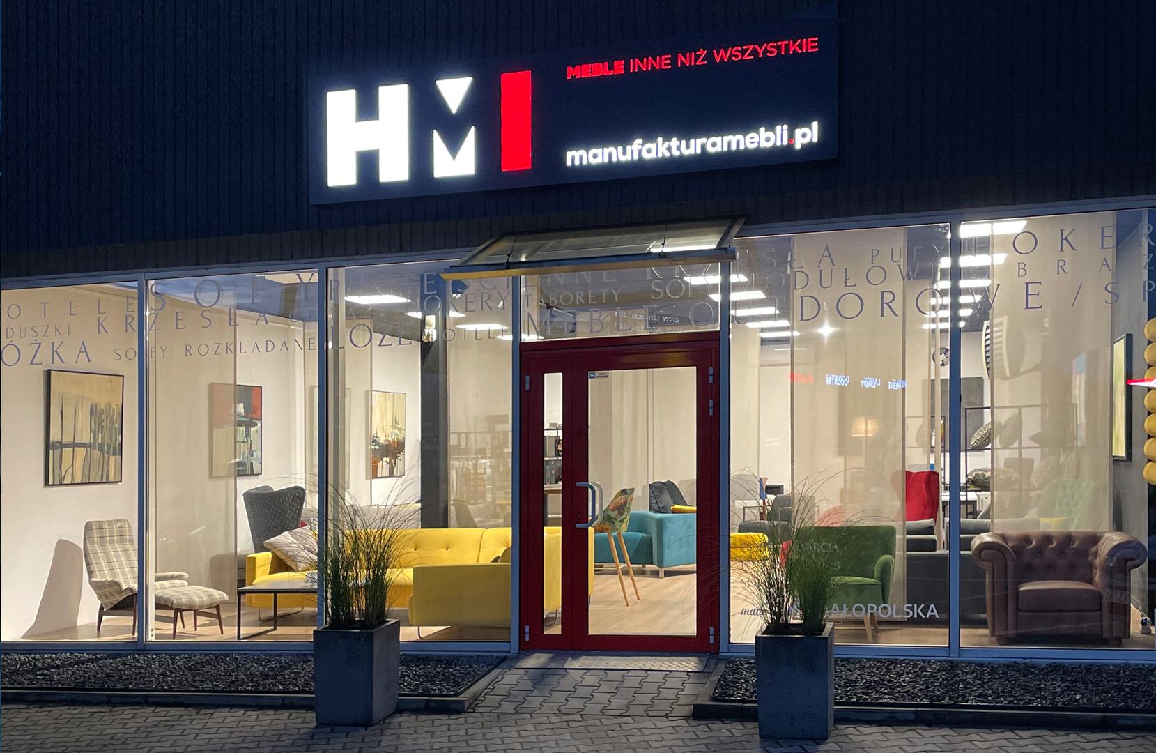 HM Manufaktura producent mebli tapicerowanych wypoczynkowych